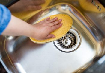 How To Clean Your Kitchen Sink & Drains